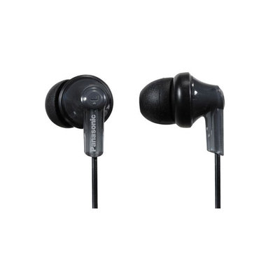 Panasonic RP-HJC120 Inner Earbud Headphones with iPod/iPhone Controller - Black