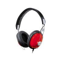 Panasonic Consumer RP-HTX7-R1 Stereo Headphone Red