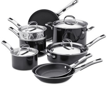 Kenmore 12 pc. Nonstick Aluminum Cookware Set - Kenmore