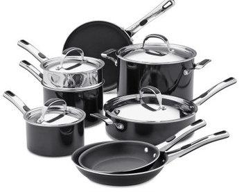 Kenmore 12 pc. Nonstick Aluminum Cookware Set - Kenmore