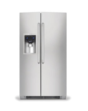 Electrolux 22.16 Cu. Ft. Side-by-Side Refrigerator - Stainless Steel w/Gray Sides