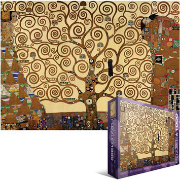 Klimt- Tree of Life 1000 pc Jigsaw Puzzle
