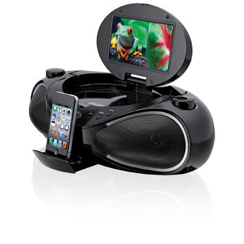 iLive iPod iPhone DVD CD MP3 Boombox with Dock