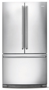 Electrolux Refrigerator. IQ Touch 22.37 cu. ft. French Door Refrigerator in Stainless Steel, Counter Depth EI23BC60K