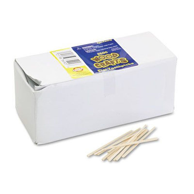 Chenille Kraft Flat Natural Wood Toothpicks, 2500/Pack