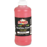 Prang Ready-to-Use Tempera Paint, Red 16oz.