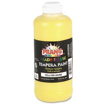 Prang Ready-to-Use Tempera Paint, Yellow 16oz.