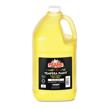 Prang Ready-To-Use Tempera Paint, Yellow, Gallon