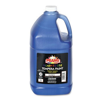Prang Ready-To-Use Tempera Paint, Blue, Gallon