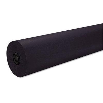 Pacon Decorol Flame Retardant Paper Rolls, Black