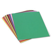 SunWorks Construction Paper, 58 lbs, 18 x 24, Assorted, 50 Sheets/Pack