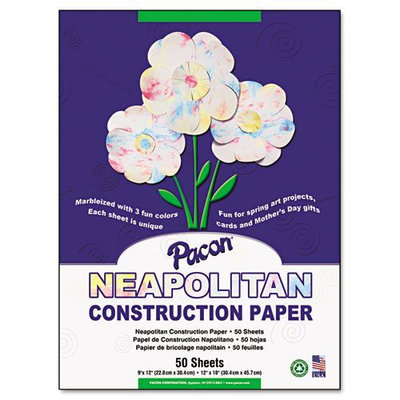 Pacon Neapolitan Construction Paper - 9 x 12