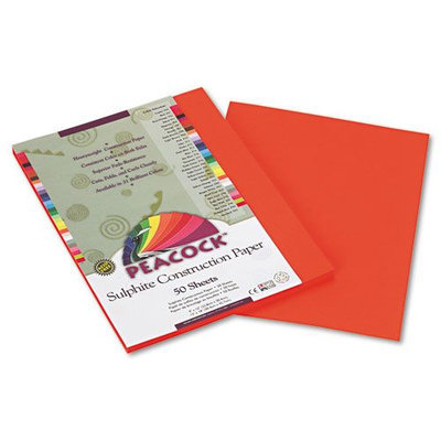 Pacon Peacock Heavyweight Construction Paper, Orange