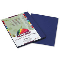 Pacon Peacock Heavyweight Construction Paper, Dark Blue