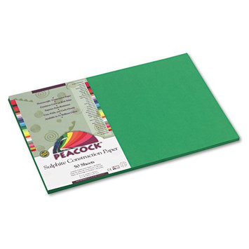 Pacon Peacock Heavyweight Construction Paper, Holiday Green