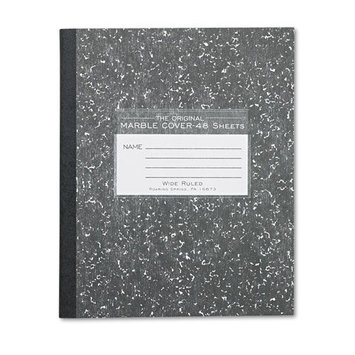 Roaring Spring Paper Ruled and Subject Notebooks Marble Cover