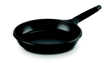 M Block M. Block F11-I18 7 in. Fry Pan with Removable Handle - Black