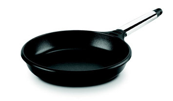 M Block M. Block F10-I20 8 in. Fry Pan with Removable Handle - Stainless Steel