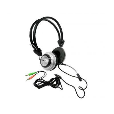 Pyle PHPMC2 Multimedia Stereo Headphone and Mic Volume