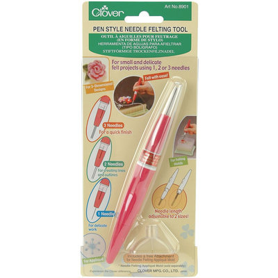Clover 74295 Pen Style Needle Felting Tool