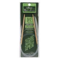 Clover Bamboo Circular Knitting Needles 48