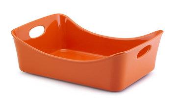 Rachael Ray Orange Stoneware 9