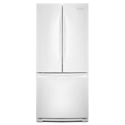 KitchenAid 20 cu. ft. French Door with Internal Dispenser - White