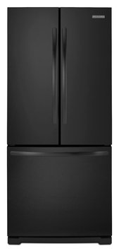 KitchenAid 20 cu. ft. French Door with Internal Dispenser - Black