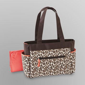 Baby Essentials 2 Pc. Diaper Bag Set - Leopard