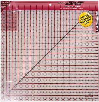 Sullivans The Cutting EDGE Frosted Ruler, 16-1/2