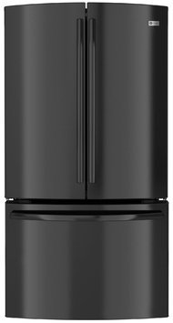 GE Profile Black Counter Depth French Door Refrigerator - PWE23KGDBB