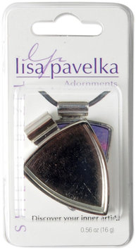 JHB 462877 Lisa Pavelka Silver Plated Bezel 1-Pkg-Shield
