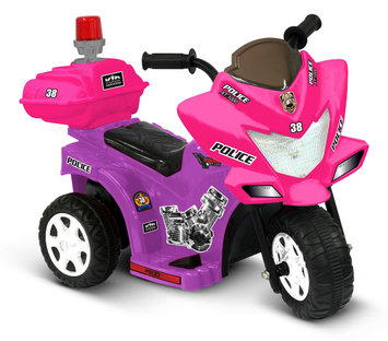 National Products Limited 0287 6V Lil Patrol In Purple and Pink