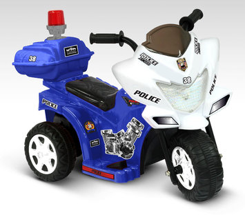 National Products Limited 0286 6V Lil Patrol In Blue and White