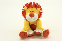 Animal Adventure Jungle Brights Monkey Brown with Red Jacket - ANIMAL ADVENTURE, INC.