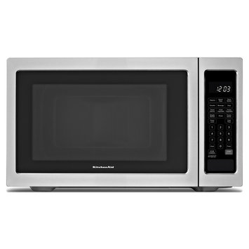 KitchenAid - 16 Cu Ft Full-Size Microwave - Black/Stainless
