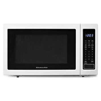 KitchenAid - 16 Cu Ft Full-Size Microwave - White