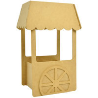 Kaisercraft Beyond The Page MDF Small Candy Cart-11