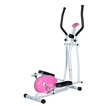 Sunny Distributor Inc Sunny Health & Fitness Pink Magnetic Elliptical Trainer