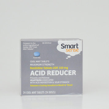 Mygofer Ranitidine Tablets Acid Reducer Cool Mint 150mg