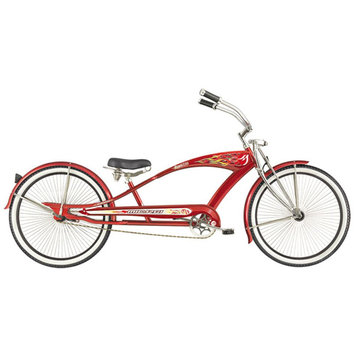 Micargi Red Puma GTS Beach Cruiser - WARD INTERNATIONAL TRADING INC.