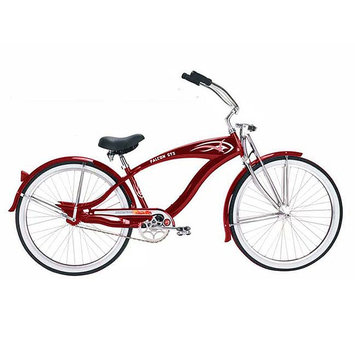 Micargi Red Falcon GTS Beach Cruiser - WARD INTERNATIONAL TRADING INC.