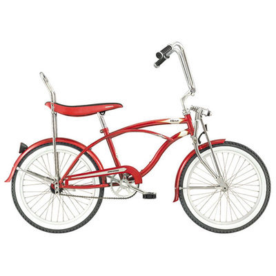 Micargi Red Hero Beach Cruiser Male - David Shaw Silverware NA LTD