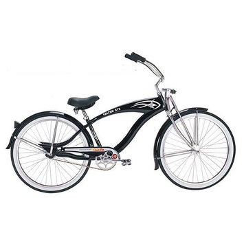 Micargi Black Falcon GTS Beach Cruiser - WARD INTERNATIONAL TRADING INC.