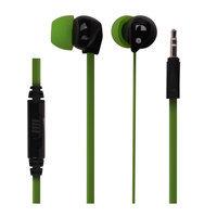 Ear Buds w/ Black and Green Cushions M10GR