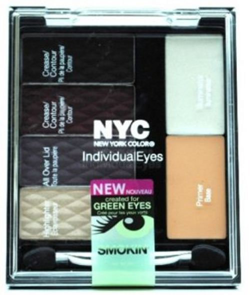 Del Laboratories, Inc. Individual Eyes Custom Compact Smokey Greens .158 oz