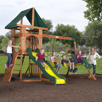 Leisure Time Products Backyard Discovery Santa Fe Swing Set