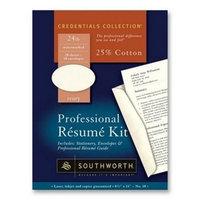 Southworth Company 36-534-03 Southworth Professional Resume Kit - Letter - 8.5 X 11 - 24lb - Wove - 20 X Sheet 10 X Envelope - Ivory (sou3653403)