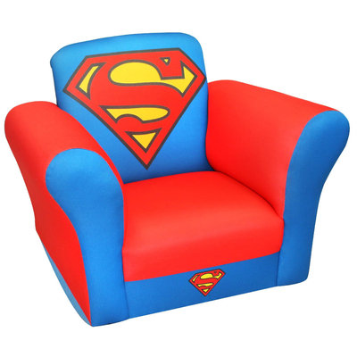 Warner Brothers Superman Child's Rocker - UNCLE HOWIE PRODUCTS, INC.
