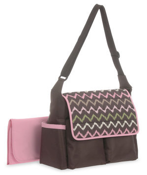 Baby Boom Chevron Flap Diaper Bag - STEVENS BABY BOOM LTD.